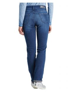 PIONEER SALLY Jeans - Blue Black Dark Used with Buffies - Hinten