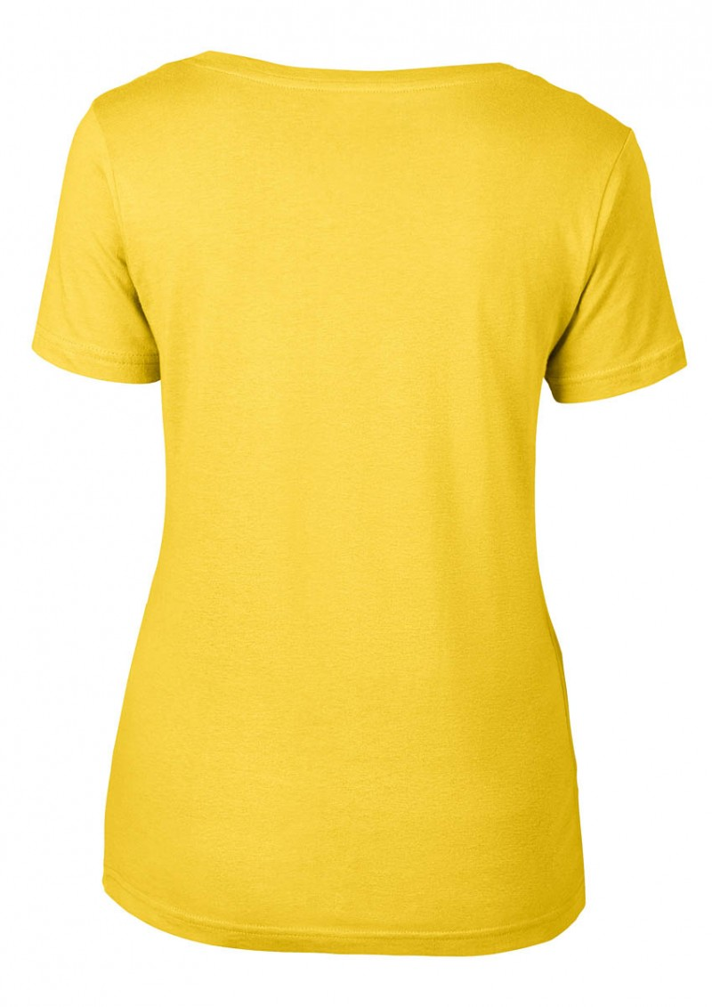 Anvil T-Shirts - Sheer Scoop - Lemon Zest