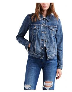 Levis Damen Original Truckerjacke in mittelblau