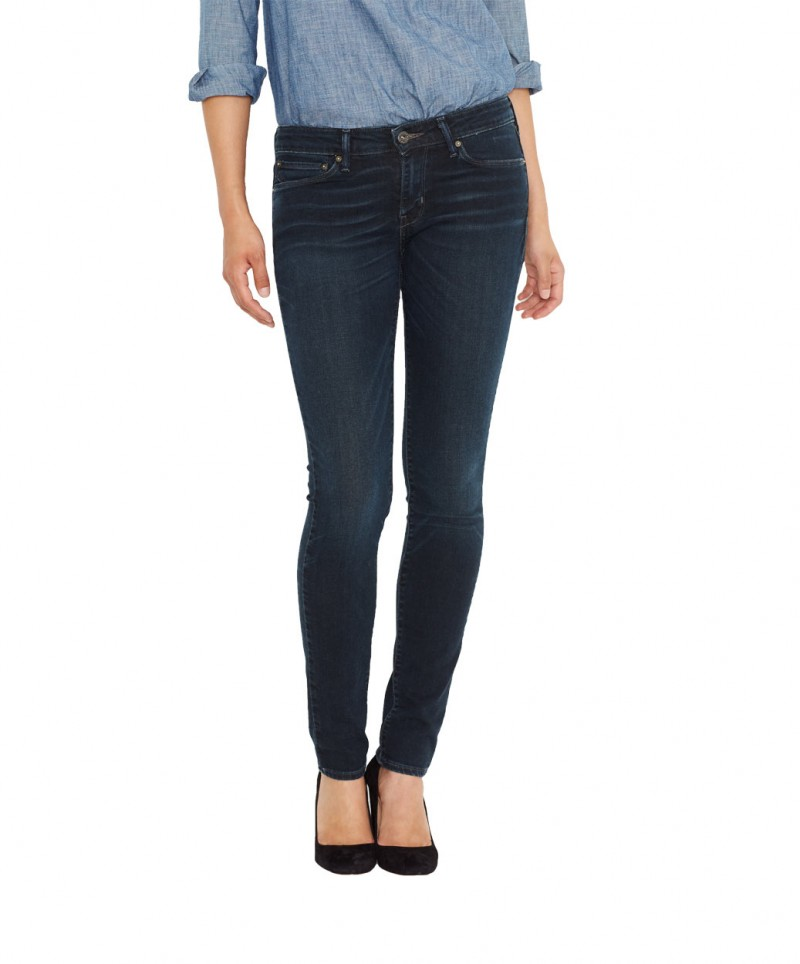 Levis Demi Curve - Skinny Jeans - Burnt Wood v