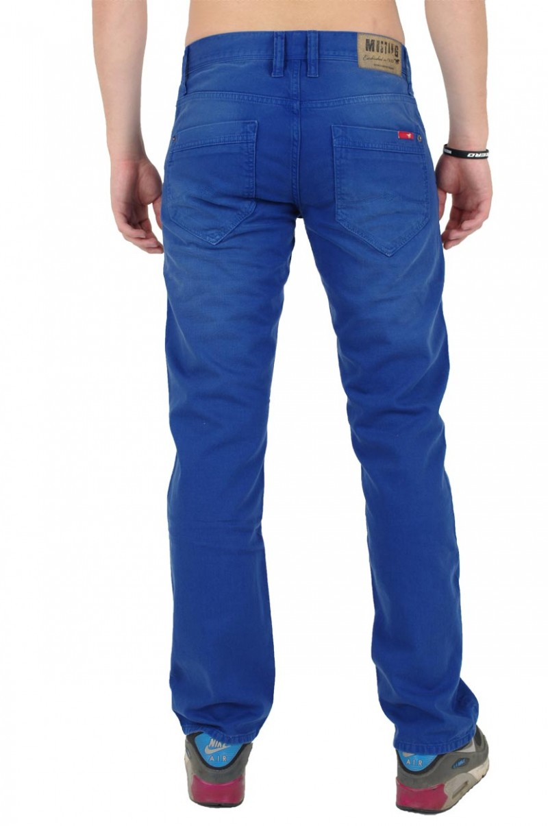 Mustang New Oregon Jeans - Slim Fit - Blue Wash