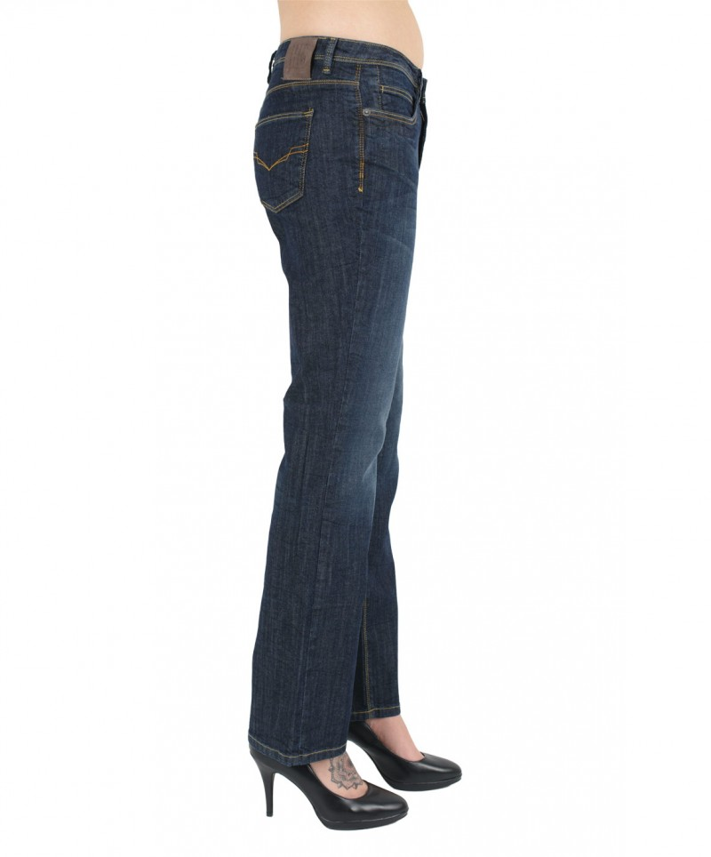 HIS COLETTA Jeans - Comfort Fit - Burly Blue