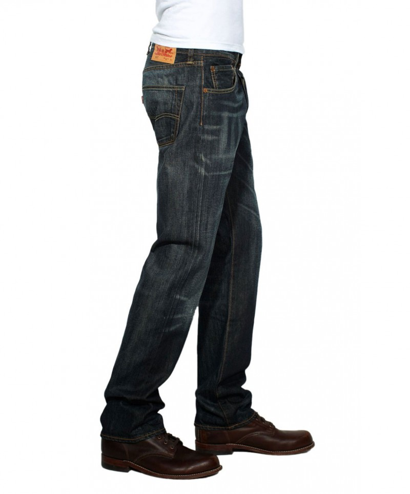 Levis 501 Jeans - Original Fit - Dusty Black