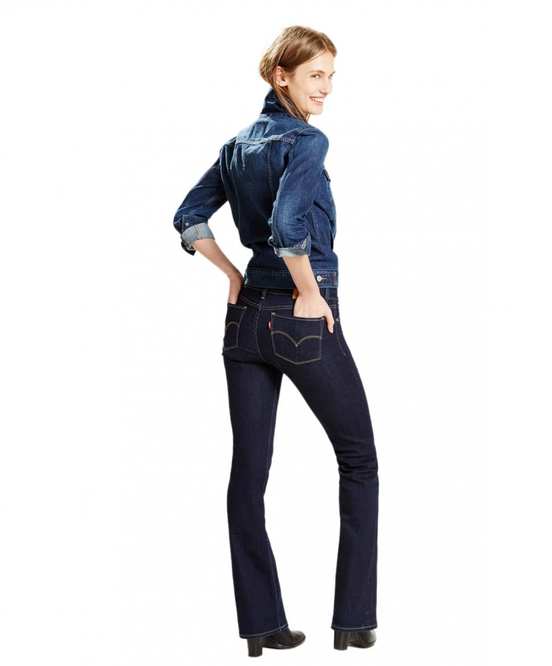 Levis 715 Bootcut - Slim Fit - Lone Wolf
