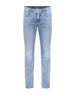 Mac Jog'n Jeans - Jogginghose in Sweat Denim und Sky Blue Optik