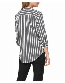 Vero Moda Gestreiftes Hemd Erika mit Brusttaschen