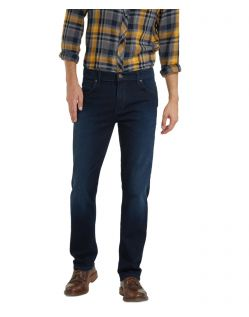 Wrangler Texas Stretch Jeans in coolem Dunkelblau