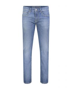 MAC Arne Pipe - enge Vintage Jeans aus hellem Stretch-Denim