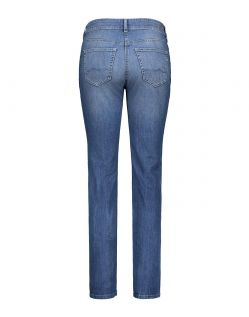MAC ANGELA Jeans - Slim Fit - Authentic Mid Blue Used - Hinten