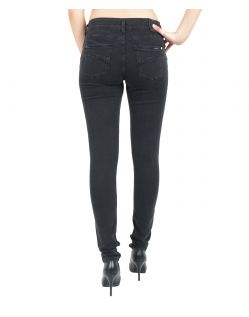 GARCIA Rachelle Jeans - Super Slim Leg - Black Worn - Hinten