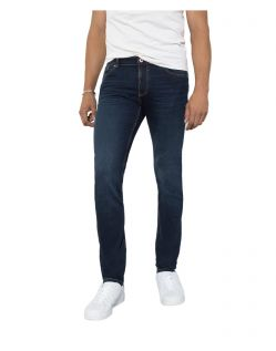 HIS CLIFF - Slim Fit Jeans - Pure Blue Black