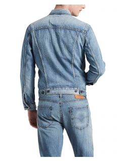 Levis Jeansjacke Herren in regulärer Passform - hinten