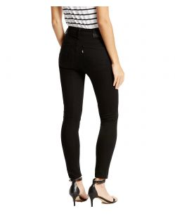 Levis 721 HIGH RISE SKINNY - Slim Fit - Black Sheep - Hinten