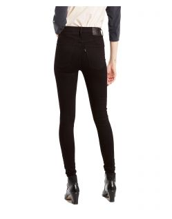 LEVI'S MILE HIGH - Super Skinny - Night - Back