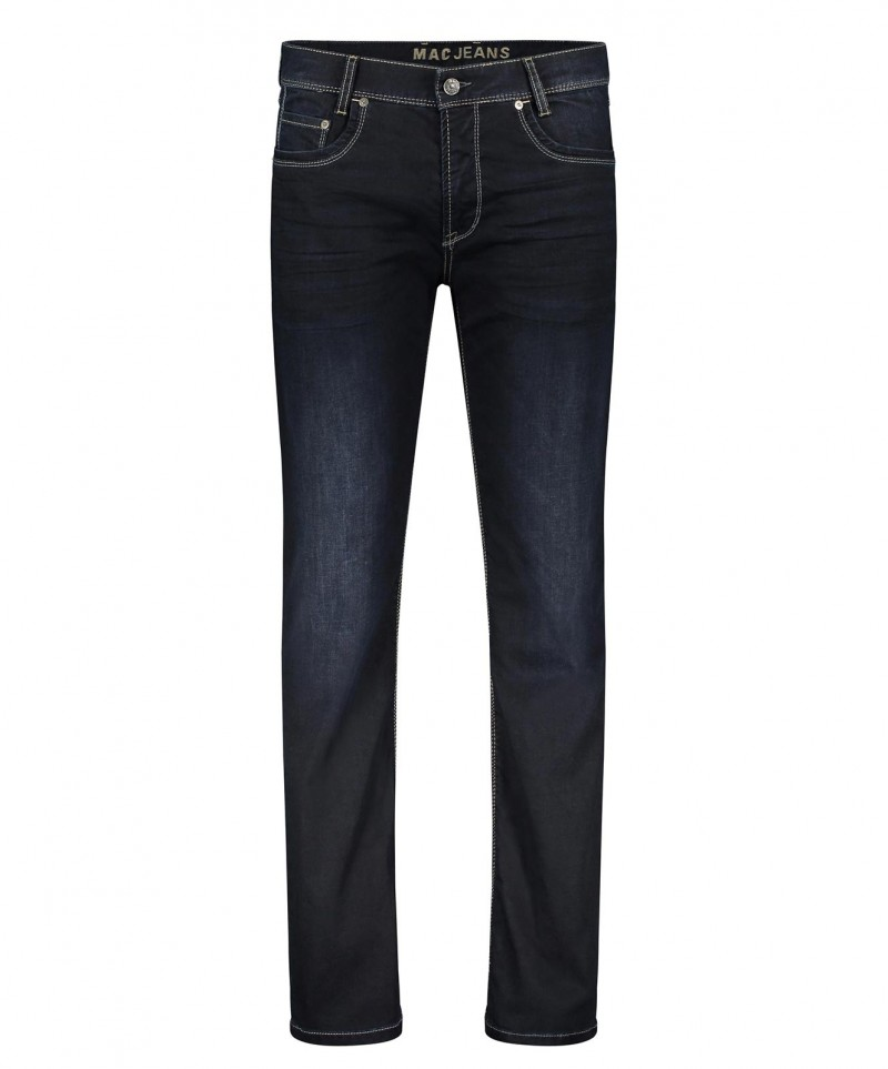 MAC Arne Jeans - Sommer Denim - Dark Blue od Black