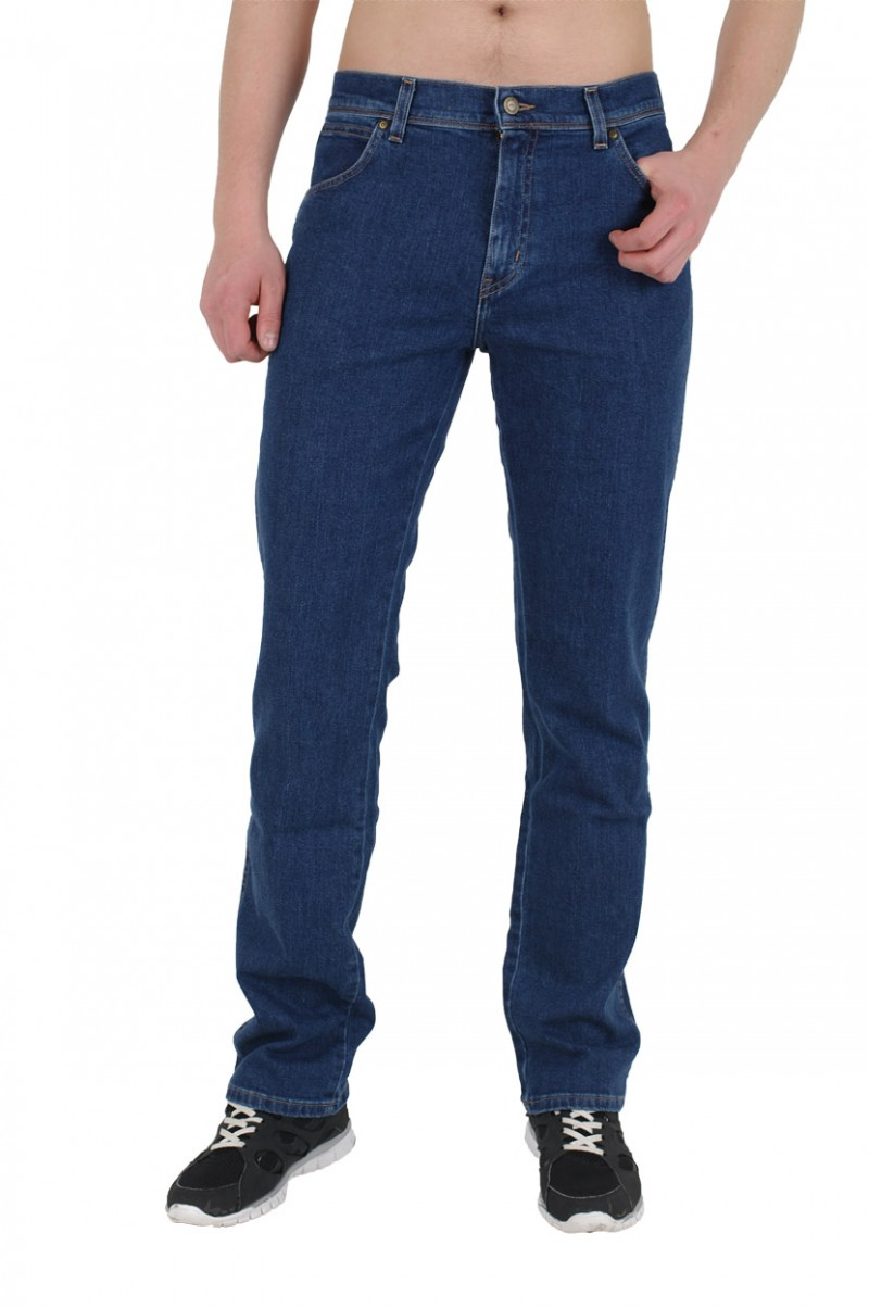 Wrangler Regular Fit - Stetch Jeans - Darkstone