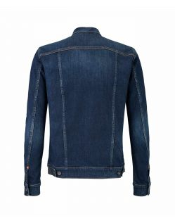 MUSTANG Jeansjacke - New York - Stone Washed - Hinten