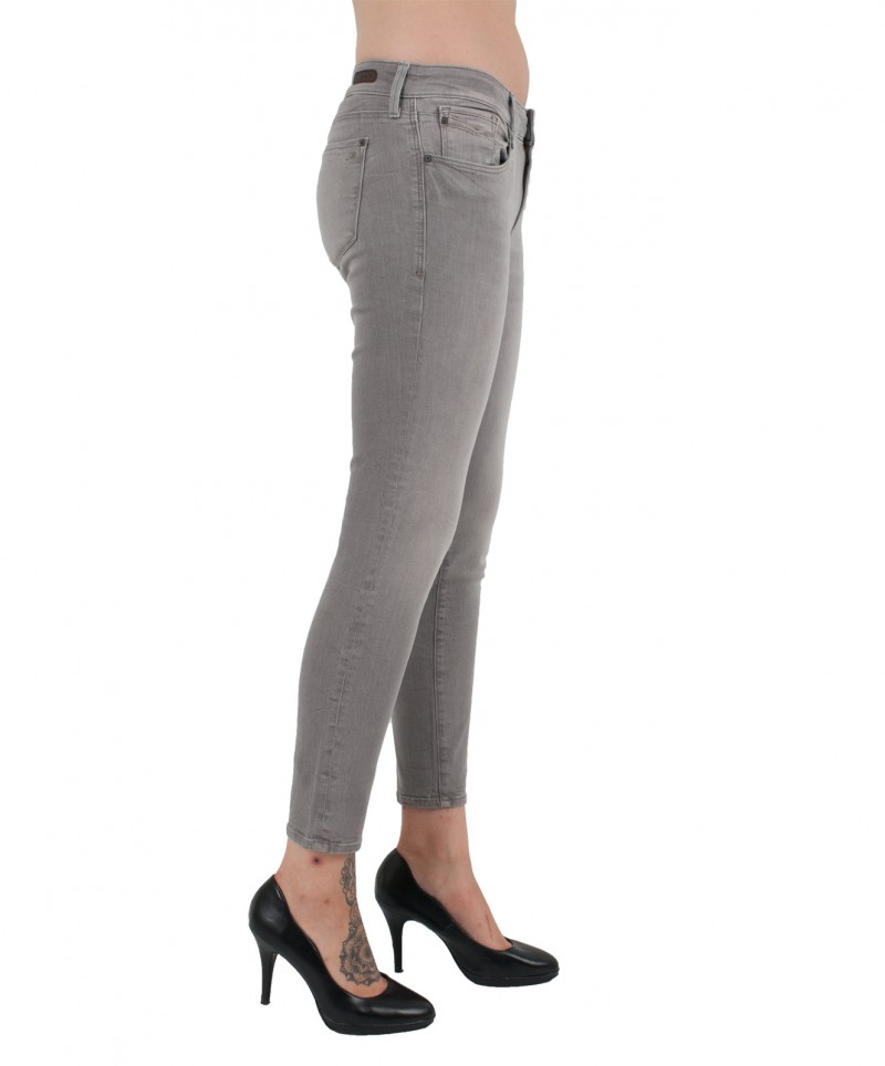 MAVI ADRIANA ANKLE - Super Skinny - Midnight Tribeca