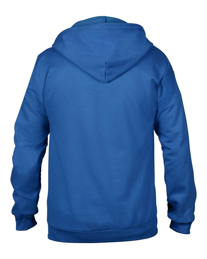 Anvil Kaputzen Sweatjacke - Regular Fit - Royal Blue