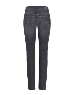 MAC ANGELA Jeans - Slim Fit - Dark Grey Used - Hinten