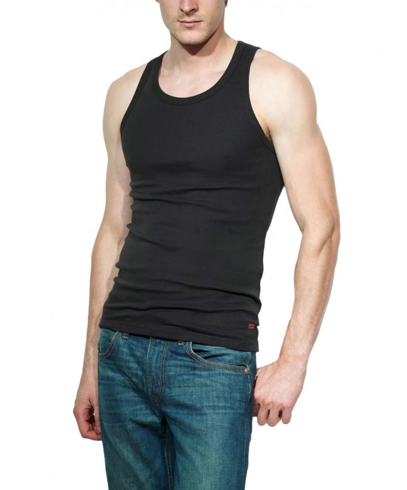 Levis Tank Top - Slim Fit - black