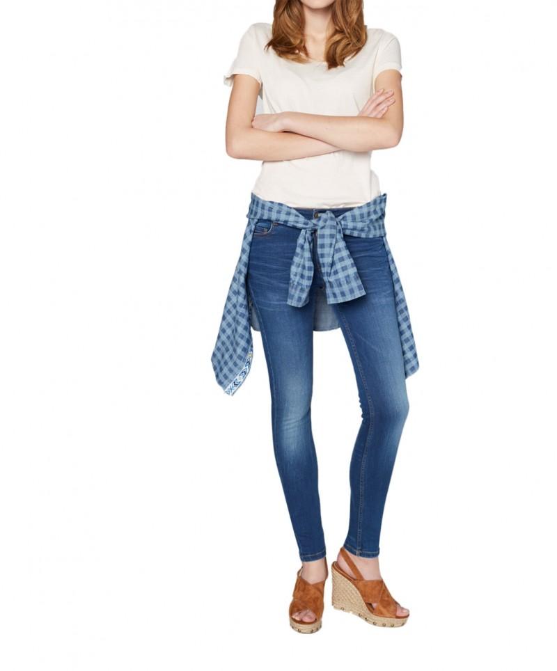 Colorado Damen Skinny - Tight Fit - Schwarz