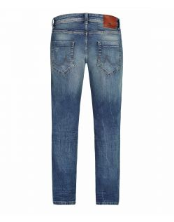 LTB HOLLYWOOD Jeans - Straight Leg - Timor Wash - Hinten