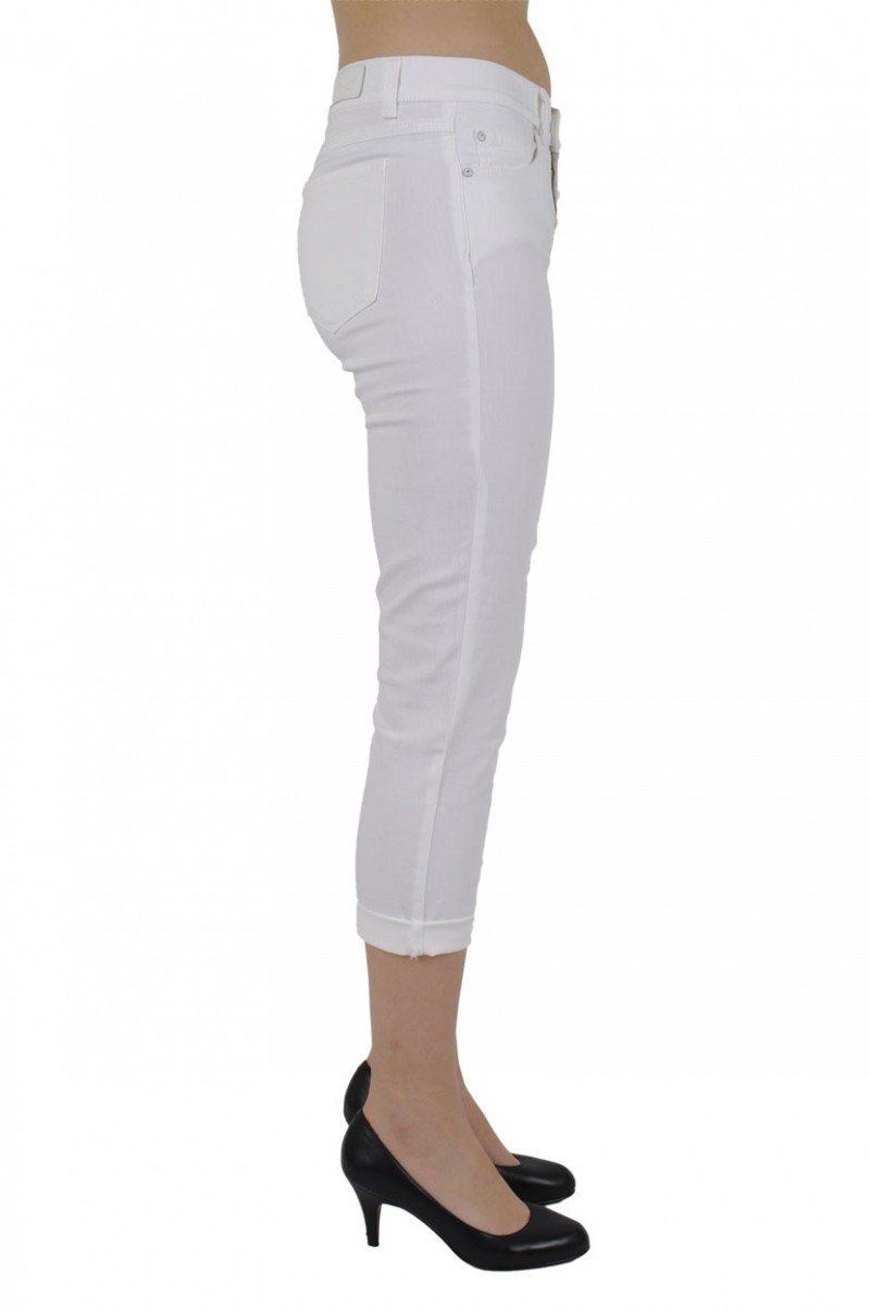 Angels Jeans Ornella - Slim Fit - Weiss
