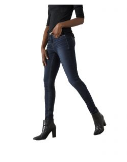 HIS LORRAINE - Super Skinny Jeans - Dark Blue Wash