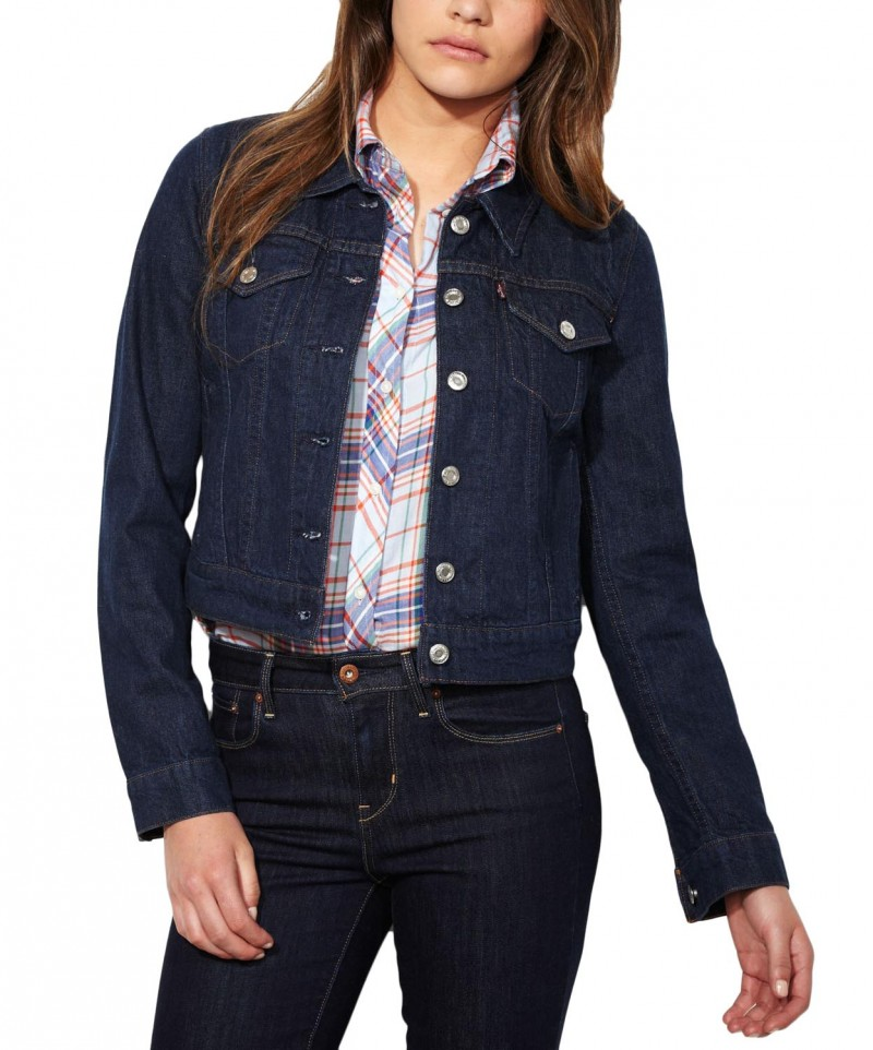 Levis Jeansjacke Dame - Authentic Trucker - Rinse