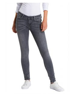 Cross Damen - Skinny Fit Jeans - Dark Grey