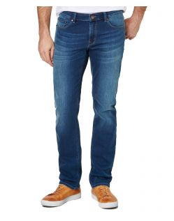 PADDOCKS Jason - Tapered Leg - Medium Blue Stone Used Moustache