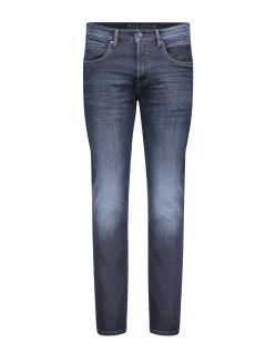MAC ARNE PIPE - Flexx Denim - Blue Black 3D Authentic Wash
