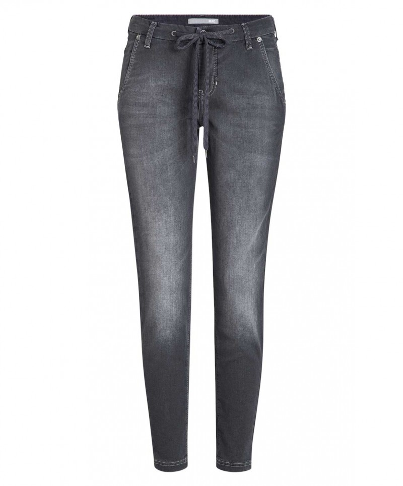 Mac Jogging Jeans - Sweat Denim - Black Authentic Wash