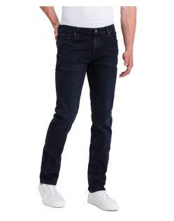 Cross Jeans Damien - Slim Jeans in Blue Black Waschung