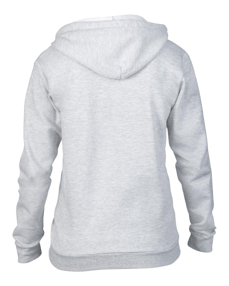 Anvil Sweatshirt - Kaputzenjacke - Heather Grey