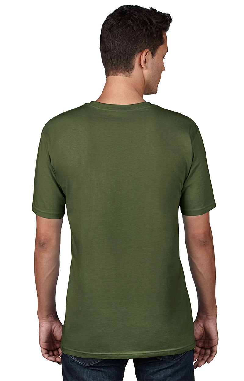 Anvil T-Shirt - AnvilOrganic™ Tee - City Green