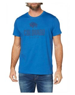 Colorado Cole - Bio-T-Shirt in hellblau mit Logo