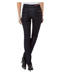 CROSS Anya - High Waisted Jeans - Rinse - Hinten