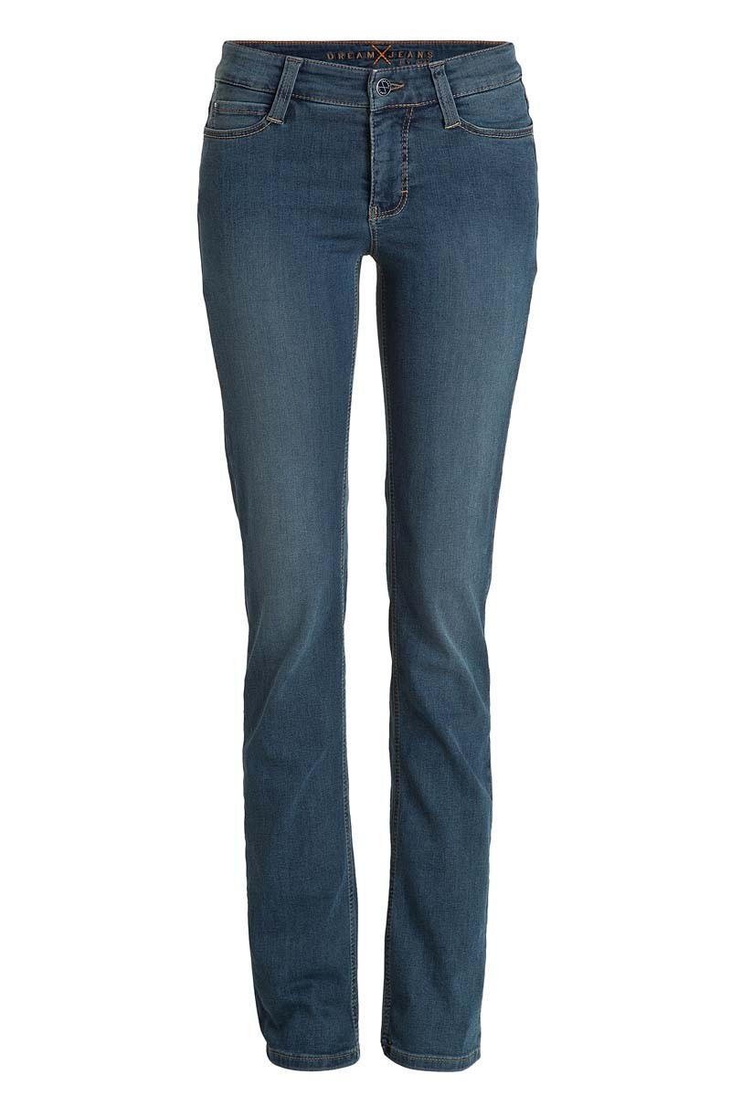 MAC DREAM - Jeans Straight Leg - stone