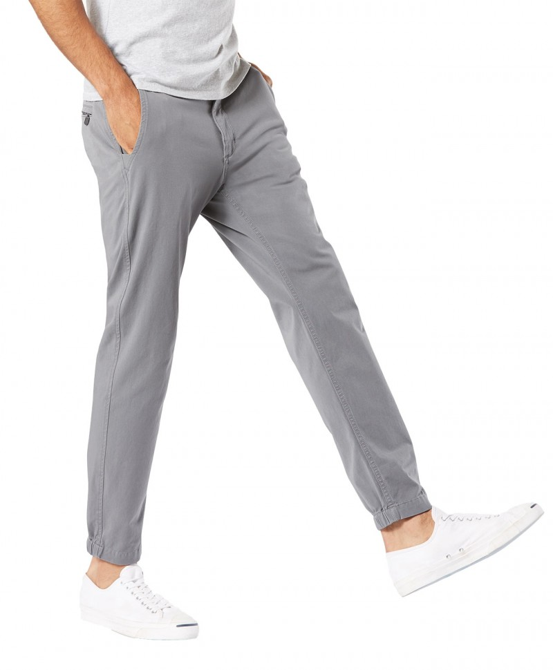 DOCKERS BIC WASHED - Slim Tarped - New British Khaki