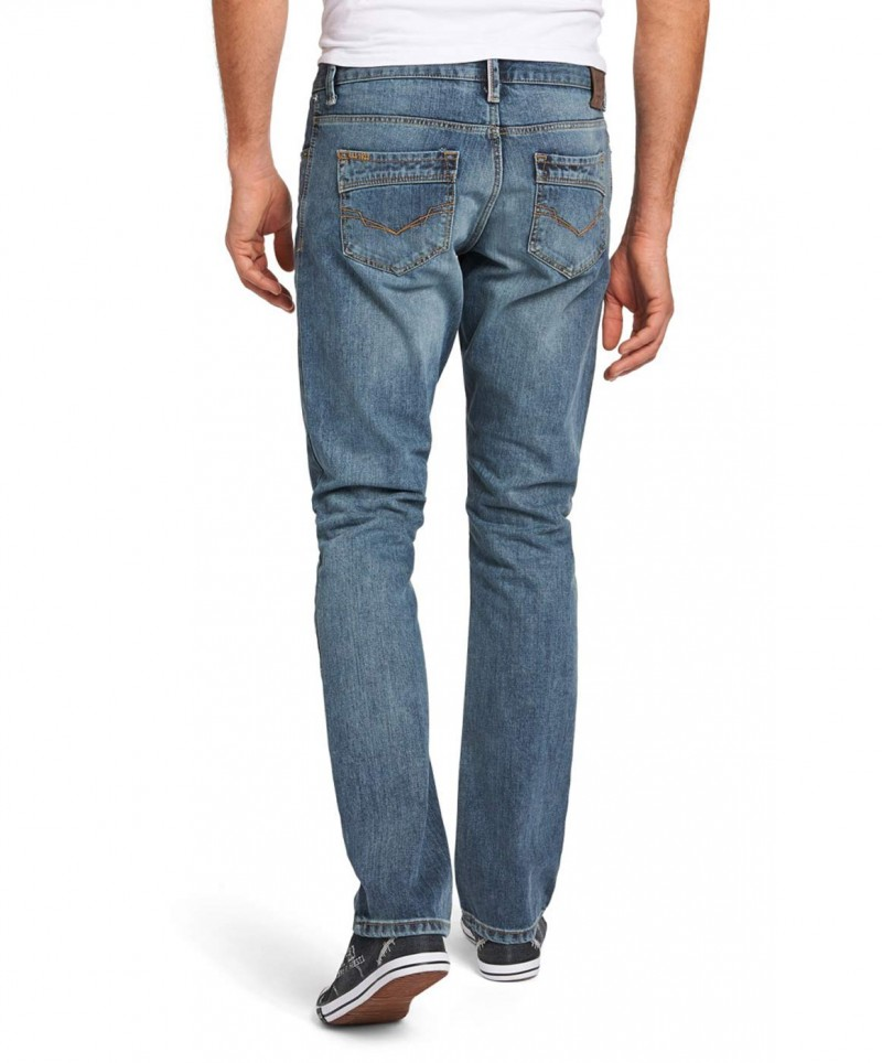 HIS STANTON Jeans - Straight Leg - Blizzard Blue