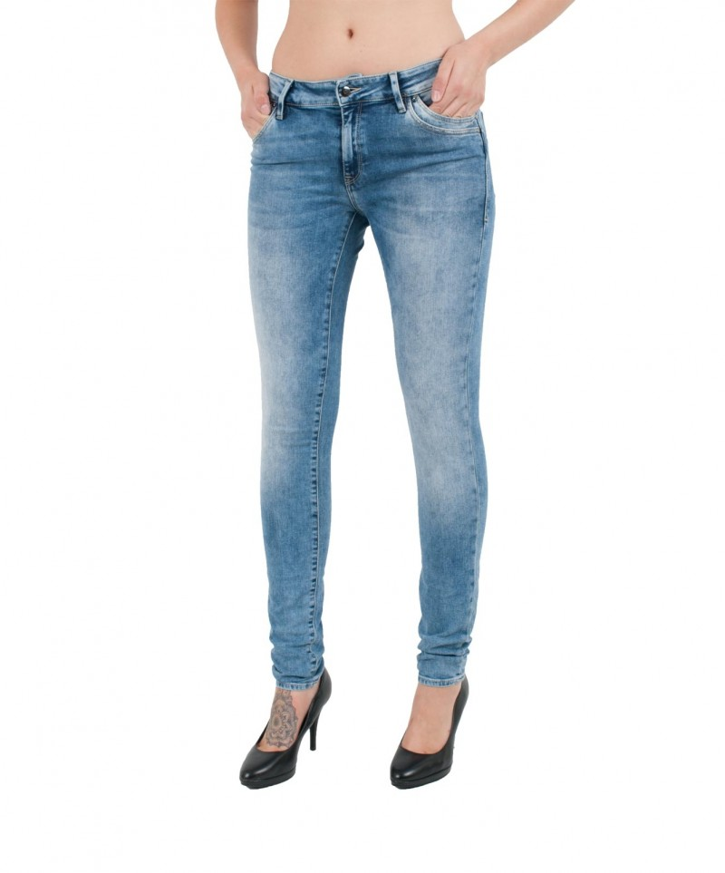 MAVI ADRIANA Jeans - Super Skinny - Rinse Rome