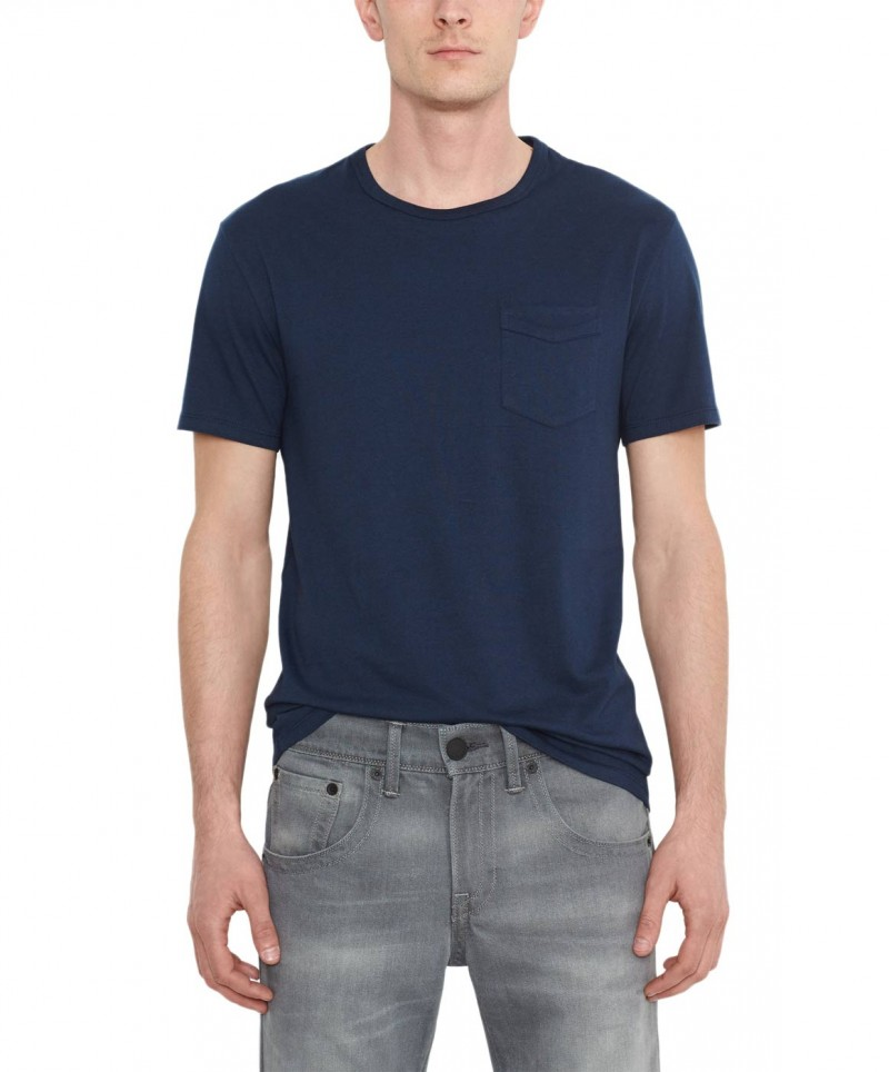 Levis T-Shirt - Sunset Pocket Tee - Dress Blues