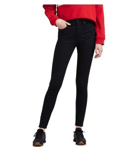 Levi's Mile High Super Skinny Jeans in Schwarz