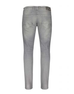 MAC Arne Pipe Jeans - Flexx Denim - Light Grey Authentic Used 3D - Hinten