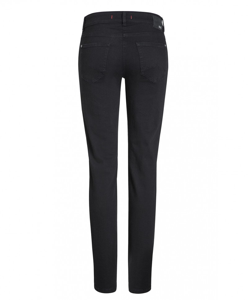 Mac Carrie Pipe Jeans - Perfekt Fit Forever - Schwarz