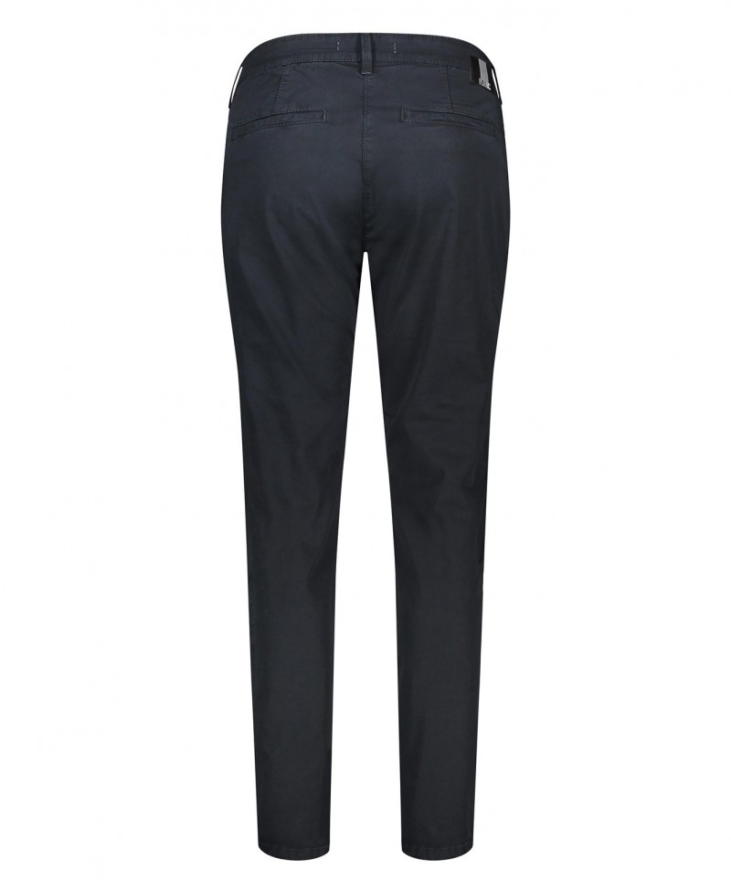 MAC Chino - Relaxed Slim Fit - Dark Blue