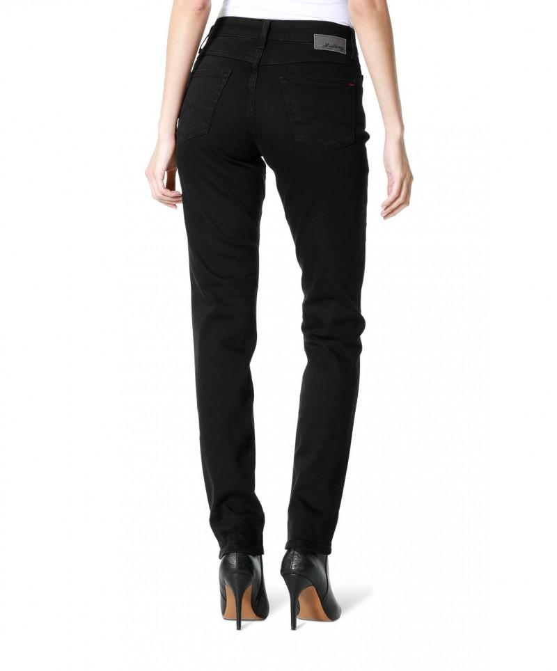 Mustang Sissy Slim - Stretch Jeans - Schwarz