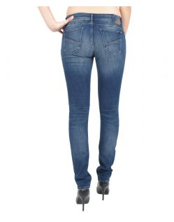 GARCIA RIVA Jeans - Super Slim Leg - Destroyed Applikation - Blue Used - Hinten